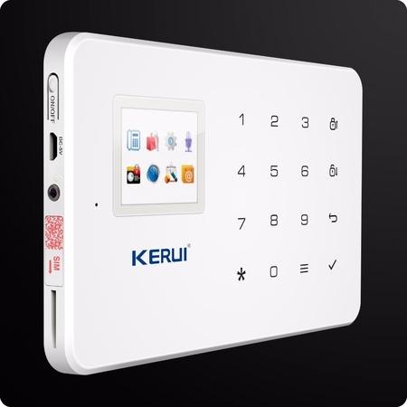 KERUI SYSTEM ALARMOWY GSM PIR DRZWI OKNA DYM SYREN (1)