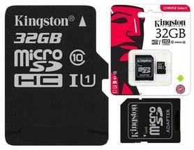 KINGSTON KARTA 32 GB CLASS 10 UHS SZYBKA KLASA 10