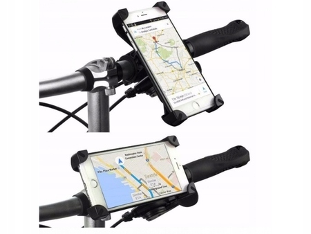 UCHWYT ROWEROWY NA TELEFON ROWER MOTOCYKL GPS (1)
