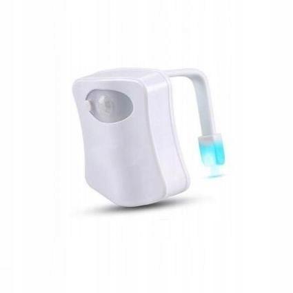 PODŚWIETLENIE WC LAMPKA LED CZUJNIK ZMIERZCHU RUCH (1)