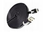 2 METRY Płaski Kabel Micro USB 2 Metry Ładowarka (1)