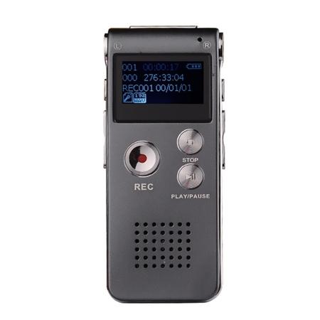 Dyktafon Cyfrowy Z Wyświetlaczem 8GB PODSŁUCH HIT (1)