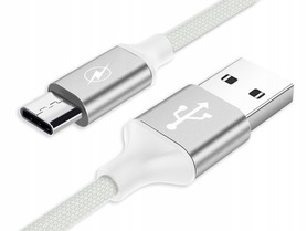 2 METRY długi Kabel USB typu C QUICK FAST CHARGE !