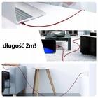 2 METRY długi Kabel USB typu C QUICK FAST CHARGE ! (6)
