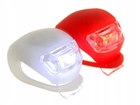 DIODOWA LAMPKA ROWEROWA LED PRZÓD TYŁ 2 SZTUKI MOC (1)